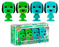 Funko-Emerald-City-Comicon-Exclusives-Pop-Minis-Mint-Snoopy-4-Pack