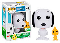 Funko-Emerald-City-Comicon-Exclusives-Pop-TV-49-Peanuts-Snoopy-and-Woodstock-2-Pack-Flocked