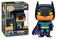 Funko-Pop-Batman-Animated-Series-369-Batman-Black-Light-Glow-Hot-Topic-Exclusive