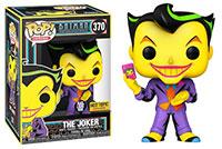 Funko-Pop-Batman-Animated-Series-370-The-Joker-Black-Light-Glow-Hot-Topic-Exclusive