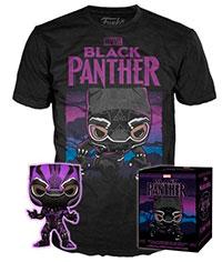 Funko-Pop-Black-Panther-273-Black-Panther-Purple-Glow-in-the-Dark-T-Shirt-Bundle-Target-Exclusive