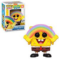 Funko-Pop-Bob-Esponja-558-SpongeBob-Squarepants-with-Rainbow-Diamond-Collection-Hot-Topic-Exclusive