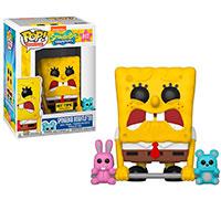 Funko-Pop-Bob-Esponja-917-SpongeBob-Weightlifter-Hot-Topic-Exclusive