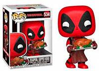 Funko-Pop-Deadpool-Deadpool-with-Turkey-Supper-Hero-534