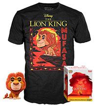 Funko-Pop-El-Rey-Leon-495-Mufasa-Flocked-T-Shirt-Bundle-Target-Exclusive