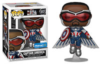 Funko-Pop-Falcon-and-the-Winter-Soldier-817-Captain-America-with-Wings-Flying-Walmart-exclusive-Metallic