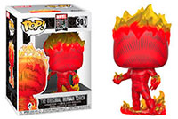 Funko-Pop-Fantastic-Four-Marvel-The-Original-Human-Torch-501