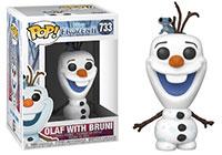 Funko-Pop-Frozen-II-733-Olaf-with-Bruni