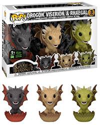 Funko-Pop-Game-of-Thrones-3-Pack-Drogon-Viserion-Rhaegal-ECCC-Exclusive