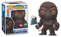 Funko-Pop-Godzilla-vs.-Kong-1021-Kong-with-Battle-Axe-Flocked-Barnes-Noble-exclusive