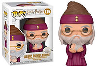 Funko Pop Harry Potter Albus Dumbledore with Baby Harry 115