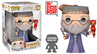 Funko Pop Harry Potter Albus Dumbledore with Fawkes 10 Super Sized 110
