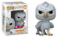 Funko Pop Harry Potter Buckbeak Flocked with Black Eyes 104