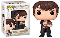 Funko Pop Harry Potter Neville Longbottom with Monster Book 116