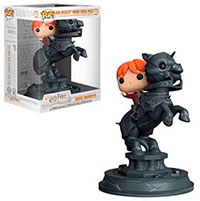 Funko Pop Harry Potter Ron Weasley Riding Chess Piece Movie Moment 82