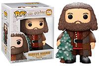 Funko Pop Harry Potter Rubeus Hagrid Holiday Super Sized 126