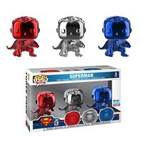Funko-Pop-Justice-League-Superman-Chrome-3Pack