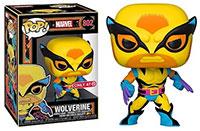 Funko-Pop-Marvel-Black-Light-Funko-Pop-X-Men-802-Wolverine-Black-Light-Target-T-Shirt-Bundle-exclusive