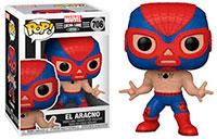 Funko-Pop-Marvel-Lucha-Libre-706-El-Aracno-Spider-Man