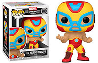 Funko-Pop-Marvel-Lucha-Libre-709-El-Heroe-Invicto-Iron-Man