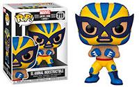 Funko-Pop-Marvel-Lucha-Libre-711-El-Animal-Indestructible-Wolverine