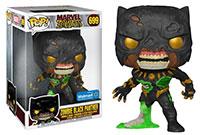 Funko-Pop-Marvel-Zombies-699-Zombie-Black-Panther-10-Jumbo-Sized-Walmart-Exclusive