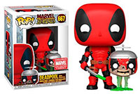 Funko-Pop-Marvel-Zombies-Deadpool-with-Headpool-Marvel-Collector-Corps-MCC-667