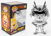 Funko-Pop-My-Hero-Academia-248-All-Might-Silver-Chrome-Funimation-Exclusive