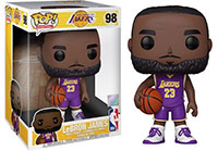Funko-Pop-NBA-Basketball-97-LeBron-James-Los-Angeles-Lakers-Purple-1022-Super-Sized-