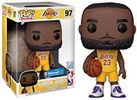 Funko-Pop-NBA-Basketball-97-LeBron-James-Los-Angeles-Lakers-Yellow-1022-Super-Sized-Walmart-Exclusive