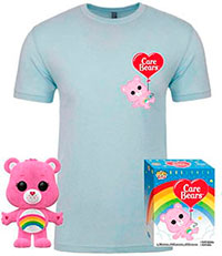 Funko-Pop-Osos-Amorosos-Cheer-Bear-Flocked-camiseta-351