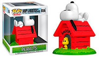 Funko-Pop-Peanuts-Figures-856-Snoopy-and-Woodstock-with-Doghouse-Deluxe