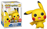 Funko-Pop-Pokemon-553-Pikachu-Waving-Diamond-Collection-GameStop-exclusive