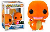 Funko-Pop-Pokemon-Charmander-Flocked-455