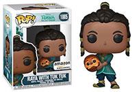 Funko-Pop-Raya-and-the-Last-Dragon-1005-Raya-with-Tuk-Tuk-Amazon-exclusive