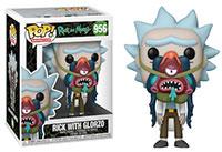 Funko-Pop-Ricky-and-Morty-956-Rick-with-Glorzo