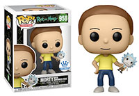 Funko-Pop-Ricky-and-Morty-958-Morty-with-Shrunken-Rick-FunkoShop-Exclusive