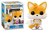 Funko-Pop-Sonic-the-Hedgehog-641-Tails-Flocked-Target-Con-2021-exclusive