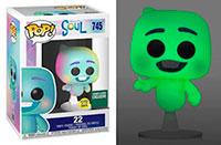 Funko-Pop-Soul-Pixar-Soul-22-Glow-in-the-Dark-GITD-745