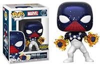 Funko-Pop-Spider-Man-614-Spider-Man-Captain-Universe-Entertainment-Earth-Exclusive