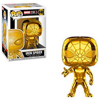 Funko-Pop-Spider-Man-Iron-Spider-Gold-Chrome-Marvel-Studios-10-Years-440