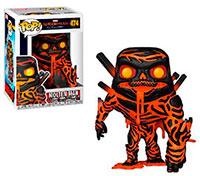 Funko-Pop-Spider-Man-Lejos-de-Casa-Molten-Man-474