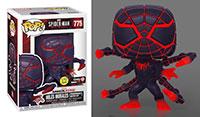 Funko-Pop-Spider-Man-Miles-Morales-Video-Game-Figures-GamerVerse-775-Miles-Morales-Programmable-Matter-Suit-GITD-GameStop-Exclusive