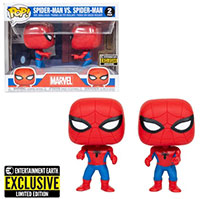 Funko-Pop-Spider-Man-Spider-Man-vs.-Spider-Man-Double-Identity-2-Pack-Imposter-Entertainment-Earth-Exclusive