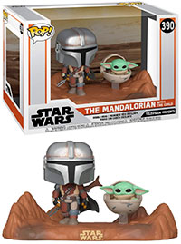 Funko-Pop-Star-Wars-The-Mandalorian-390-The-Mandalorian-with-The-Child-Television-Moments