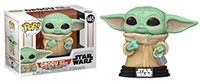 Funko-Pop-Star-Wars-The-Mandalorian-465-Child-with-Cookies