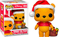 Funko-Pop-Winnie-the-Pooh-614-Winnie-the-Pooh-Holiday-Diamond-Collection-Hot-Topic-exclusive